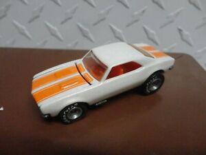 Loose Hot Wheels White 1995 Treasure Hunt '67 Camaro w/Real Riders MINT