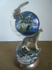 "Bradford Exchange ""Spirits of the Sky"" Sculpture with Coa"
