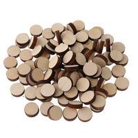 100 Stücke Holzscheiben Baumscheiben Holzplättchen Holz Platten Zum Basteln