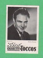 Marlon Brando  Egypt Toccos  Film Star card  Very Rare