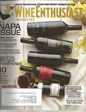 Wine Enthusiast Magazine May 2013 Napa Issue/Boutique Champagnes/Winery Picnic