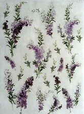 RICE DECOUPAGE PAPER / HEATHER / CRAFT PAPER / DECOUPAGE SHEETS / SCRAPBOOKING