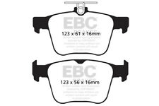 EBC Yellowstuff Rear Brake Pads for VW Golf Mk7 2.0 Turbo R (300 BHP) (2013 on)