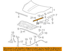 Saturn GM OEM 07-10 Outlook Hood-Lift Support Strut Shock Prop Arm 25796761