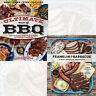 Ultimate Book of BBQ and Franklin Barbecue Cookbooks 2 Books Collection Set New
