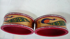 Attractive & Beutiful Peacock Suhag Bangles