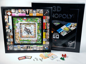 """Charles Fazzino """" New York """" Monopoly Sold Out Edition Signed and Numbered !"""