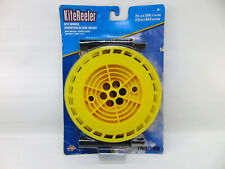 Kites X Kite Reeler Winder with 25 lb. 200 Feet Nylon String Cord Color Yellow