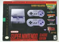 Super Nintendo Entertainment System: Super NES Classic Edition NEW Free Shipping