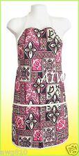 Unisex canvas Hawaiian print apron - 112Pink