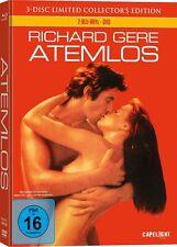 Atemlos - 3 Disc ltd Mediabook + Ausser Atem, Richard Gere DVD, Blu-ray, NEU+OVP