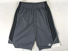 Adidas Men's 3G Speed 2.0 Athletic Shorts Onix Black White Ah6436 Size S