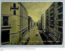 Napoli - via A.Diaz, grandi magazzini standa, N.V. animata con bus