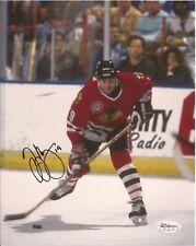 Troy Murray Chicago Blackhawks  Autographed Signed 8x10 Photograph (JSA)