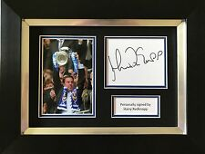 HARRY REDKNAPP HAND SIGNED FRAMED PHOTO DISPLAY PORTSMOUTH AUTOGRAPH.