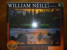 "Buffalo Games~1026 Piece Puzzles~William Neill~Yosemite Sunset~27""x 20"" New"