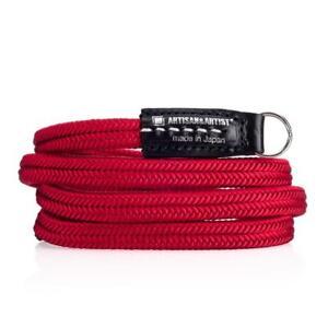 Artisan & Artist Tragriemen Gurt ACAM 310 rot red silk cord Seide Handmade