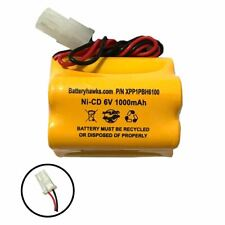 6v 1000mAh Ni-CD Battery Pack Replacement for Emergency / Exit Light