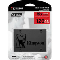 Kingston 120GB 2.5 Inch SATA III Internal SSD 120 G GB A400 Solid State Drive