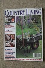COUNTRY LIVING SEP 95 - JOHN ASPINALL, SAMPLERS, FLEADH VAULTING ESSEX WATERMILL