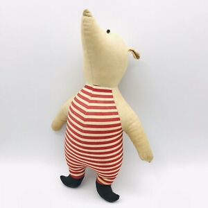 Vintage Piglet Plush Doll by Agnes Brush Hundred Acre Wood Winnie the Pooh 11""