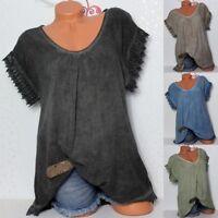 Women's Lace Crochet Floral Trumpet Sleeve Loose Shirt Large Size Women's Wear