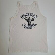 Vintage Muscle Beach Venice Beach California Tank Top Muscle Medium