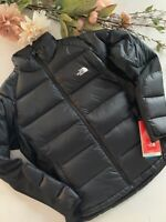 The North Face Black Crimptastic Hybrid Alpine Stretch 600 Down Jacket Coat L