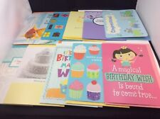 New ListingLot of 10 Hallmark Greeting Cards Birthday Wedding Baby Assorted
