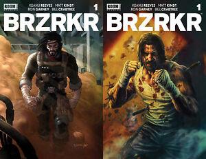 BRZRKR (BERZERKER) #1 Grampá & Bermejo 1:25 BOTH Variants SET Boom NM