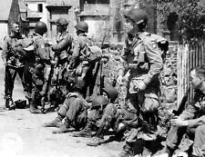 Photo. WW2. France.  82nd US Airborne in Ravenoville