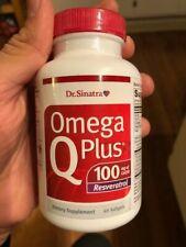 Dr. Sinatra OMEGA Q Plus Resveratrolwith 100mg of CoQ10  - 60 Softgels