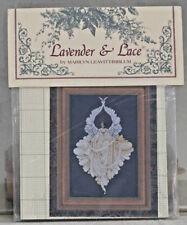 "Cross Stitch Pattern ~ Lavender & Lace ~ ""Peace Angel""  1997"