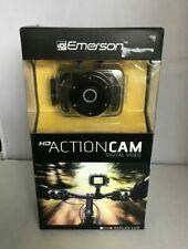 Emerson - HD Action Cam - Digital Video Camera, Bike & Helmet Mount - New In Box