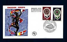 FRANCE - FRANCIA - 1964 - Europa - Fiore con 22 petali - (F)