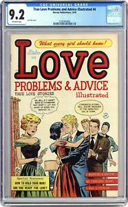 True Love Problems and Advice Illustrated #4 CGC 9.2 1949 2102445006
