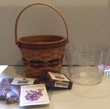 *Longaberger 1996 Shades of Autumn Maple Leaf Basket Combo