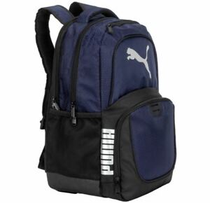 Puma Challenger Backpack Peacoat Padded Unisex Backpack with Laptop Pocket