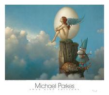 Michael Parkes Magic Spring  Fantasy Magical Weird Odd Print Poster 16x20