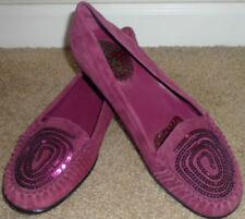 Pre-owned women's purple flat shoes by Markon size 8M
