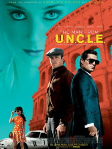V8404 The Man From U.N.C.L.E. Characters New Movie Art WALL PRINT POSTER UK