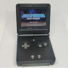NINTENDO GAMEBOY ADVANCE SP GBA SP SYSTEM AGS 101 Black Color