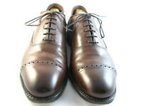 "Allen Edmonds ""Fifth Avenue""  Oxfords 10 D Coffee  (206)"