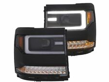 Fits 2016-2018 Chevrolet Silverado 1500 Headlight Set Anzo 35846QJ 2017