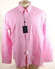 Polo Ralph Lauren Pink & White Gingham Check Cotton Button Down Shirt M $125 D2F