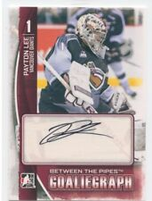 13/14 BETWEEN THE PIPES GOALIEGRAPH AUTOGRAPH AUTO PAYTON LEE GIANTS *51362