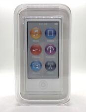 Apple iPod nano 7. Generation Silber (16GB) (aktuellstes Modell)
