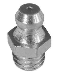 M8 Grease Nipples Straight Steel Zinc Plated