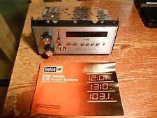 NOS GM DELCO 2000 Series ETR AM/FM Radio w/ Seek/Scan Chevrolet Buick Pontiac