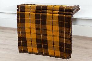 large 100% LINEN  BLANKET comforter Bedspread Coverlet luxury eco striped Duvet